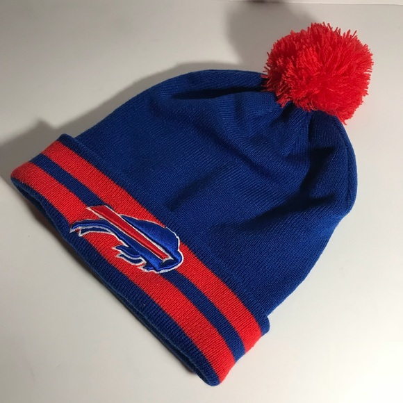 Buffalo Bills NFL Basic Cuffed Knit Winter Hat Cap 1bfb2ea3c40